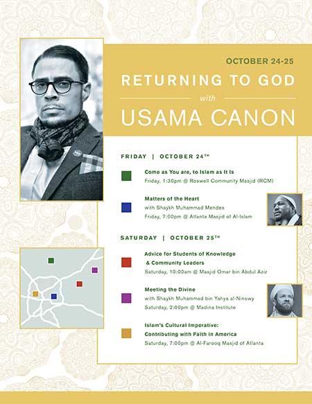 Returning to God with Usama Canon